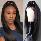 Mellow Lace Front Wig Human Hair Wig  Brazilian 100% Human Hair Lace Front Wigs For Black Women
