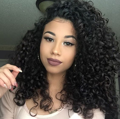 Wigsfox 22  Wavy Long Wigs For African American Women The Same As The Hairstyle In The Picture