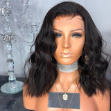 JESSA ROSE VIRGIN BLEACHED KNOTS 8'' Lace Wigs For Wedding/Free Shipping