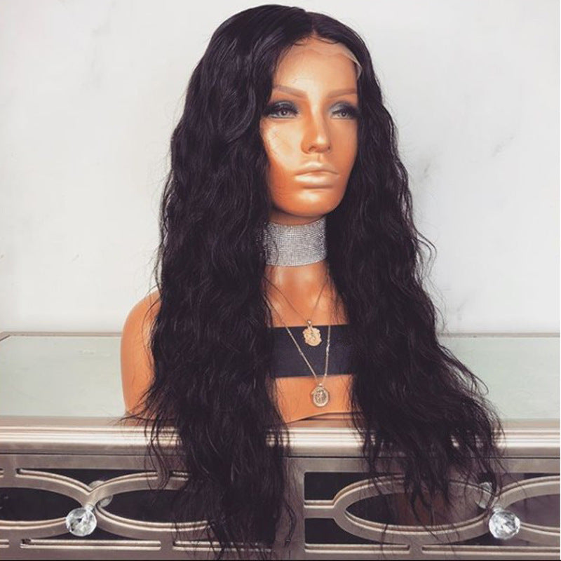 Glueless Lace Front Wig with Bleached Knots Baby Hair