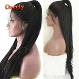 Black Color Micro Braids with Baby Hair Free Part Heat Resistant for Women/Free Shipping
