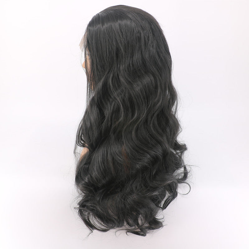 Cheap Malaysian Virgin Hair Body Wave Lace Front Wigs