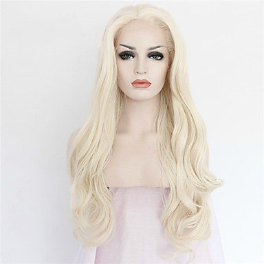 lace front lace gold natural wave ombre high temperature wire wig/Free Shipping