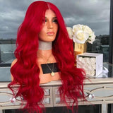Red Lace Wigs With Bangs �Best Lace Front Wigs