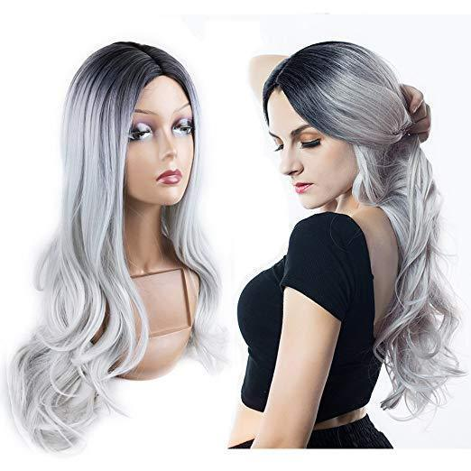 Heat Resistant Synthetic Cosplay Wig Full Wig for Women Party Wigs