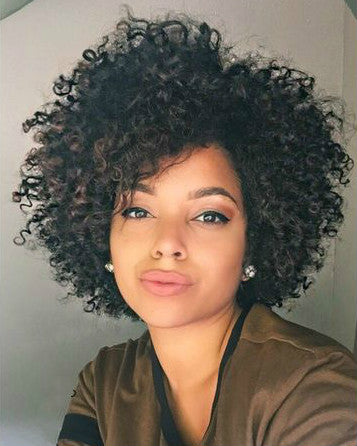 Wigsfox 10  Short Wigs For African American Women The Same As The Hairstyle In The Picture