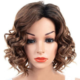 Partial Distribution Type Fluffy Big Wave Small Curl Wig
