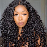 Pre Plucked Remy Hair Kinky Curly Bob Wigs Brazilian Virgin Human Hair