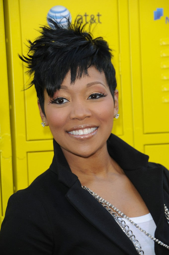 Wigsfox 12  Wavy Side Bangs Wigs For African American Women The Same As The Hairstyle In The Picture