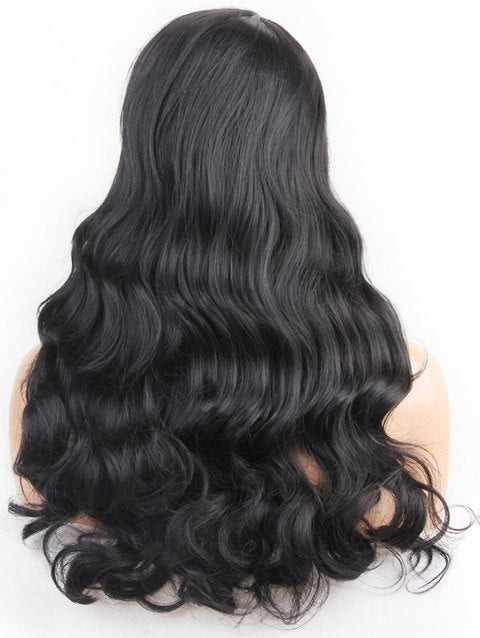 Foxwigs Lace Front Wigs Hair Center Part Long Body Wave Wig/Free Shipping