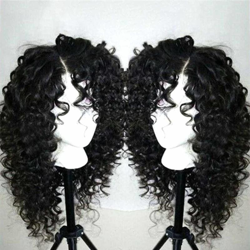 Front Wig Natural Hairline Glueless Lace Wigs with Baby Hair