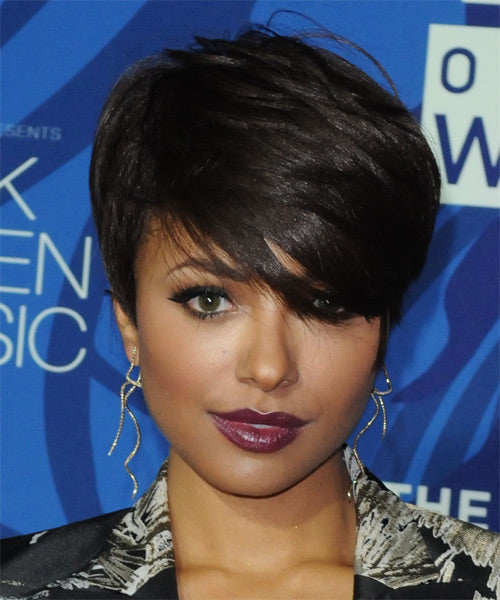 Wigsfox 10  Short Curly Wigs For African American Women The Same As The Hairstyle In The Picture