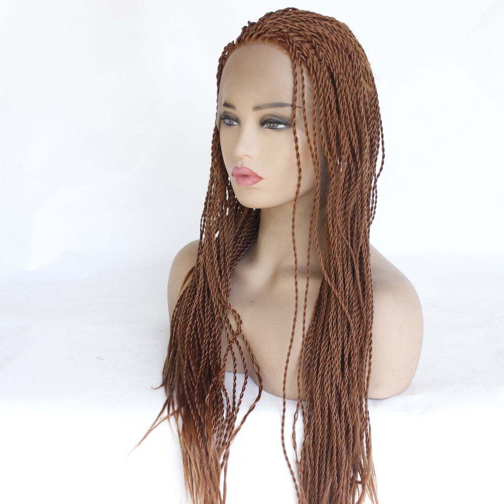 Lace Front Braids Baby Hair