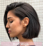 Best Short Lace Frontal Bob Wigs For Women