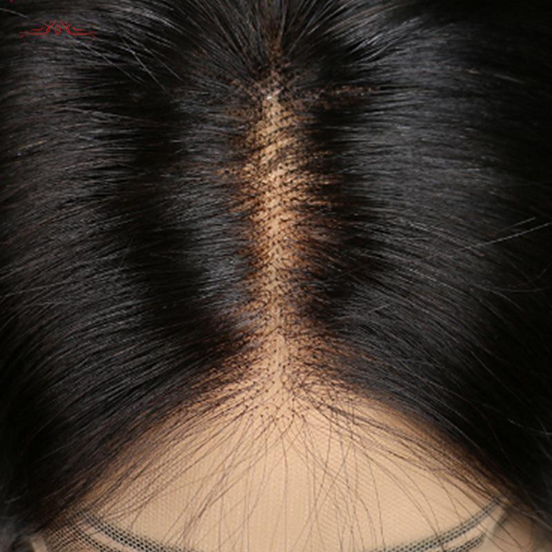 Glueless Middle Length Straight Lace Front High Temperature Fibre Wigs Remy Wigs/Free Shipping