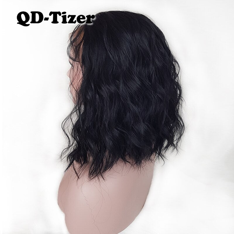 Short Bob Hair Glueless with Baby Hair Lace Front Wigs for Women/Free Shipping