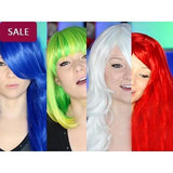 Best Halloween Crazy Wig  Collection/Free Shipping
