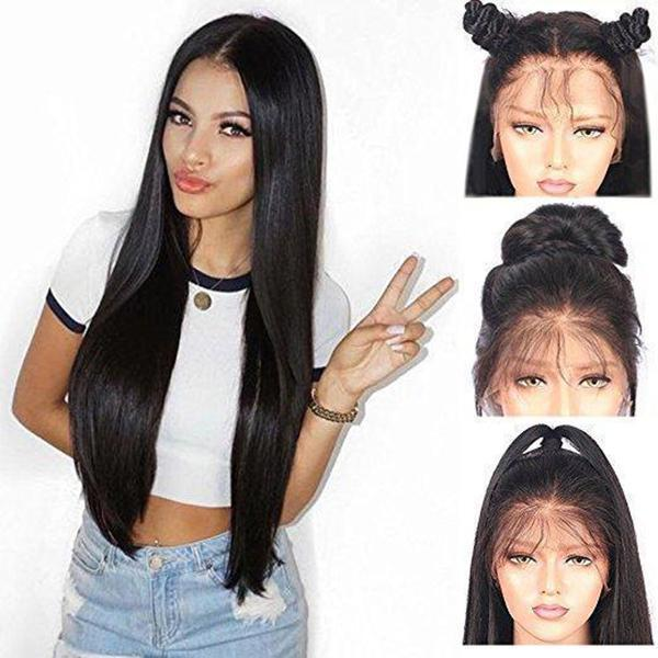 Glamorous Women Straight Long Wig/Free Shipping