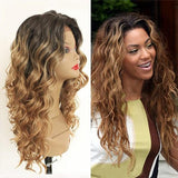 Lace Front Wig PWS434 Body Wavy/Free Shipping