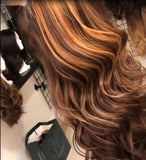 big wave brown hair/Free Shipping