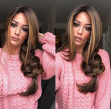 brown big wave fashion wig/Free Shipping