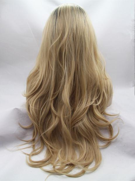 Beauty blonde lace front wig