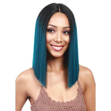 Women Short Bob Style Hair Lace Front green Wigs/Free Shipping