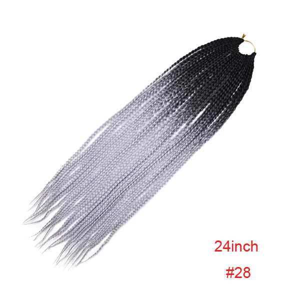 Black Box Braids Hair 3pcs/Pack Crochet Braids Hair Extensions/Free Shipping