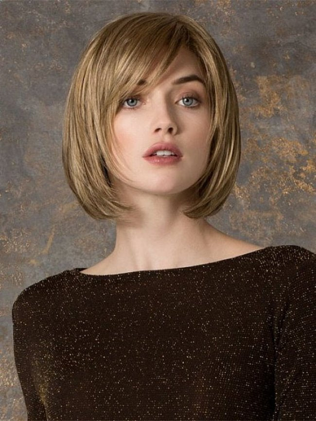 Blonde Impressive Monofilament Synthetic Wigs For Women