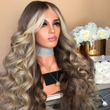 New golden wave Lace wigs For Wedding