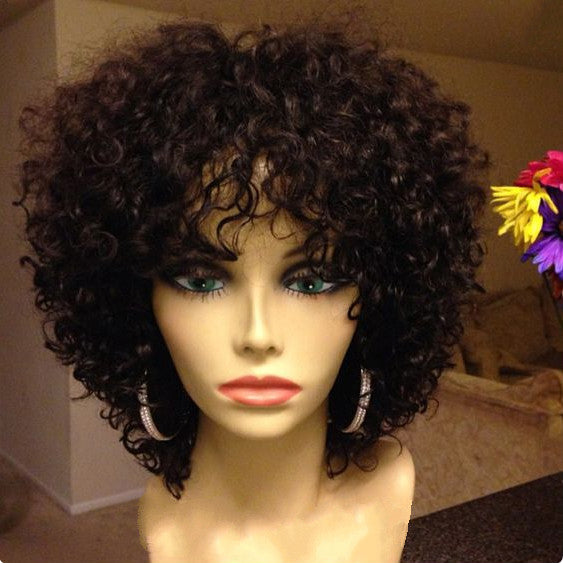Wigsfox 6  Short Wigs For African American Women The Same As The Hairstyle In The Picture