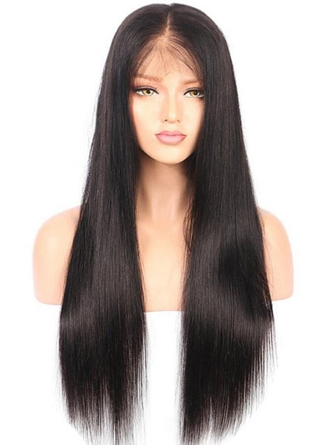 Long Free Part Straight Party Lace Front Synthetic Wig/Free Shipping