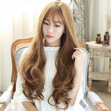 Fashion Fluffy Face Repair Long Wig