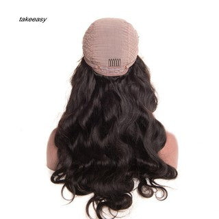 TKS_Fashion Glueless Lace Front Long Hair Curly Wave Wigs for African American Women/Free Shipping
