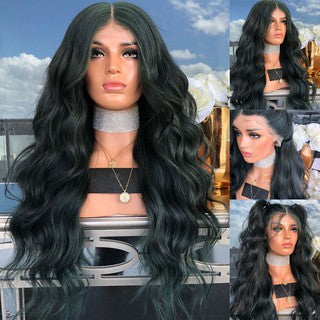 Curly Wigs Glueless Cosplay Wigs Long Fashion Ladies Sexy Lace Front Wig