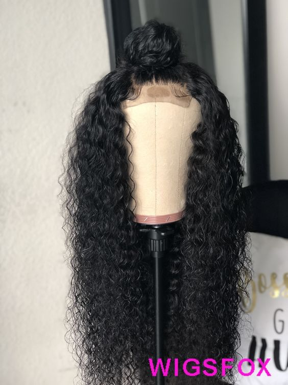Chic Deep Wave Lace Frontal Wig Celebrity Style Long Wig For Black Women Preplucked Natural Hairline