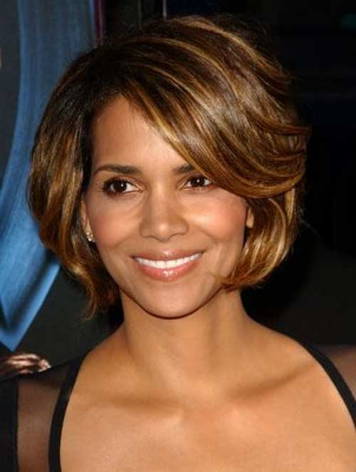 Wigsfox 12  Side Part Bob Wigs For African American Women The Same As The Hairstyle In The Picture