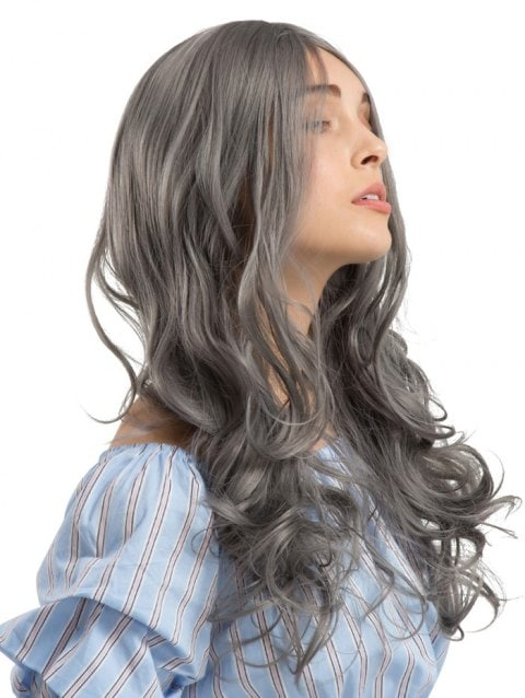 Long Length Center Parting Wavy Party Synthetic Wig/Free Shipping