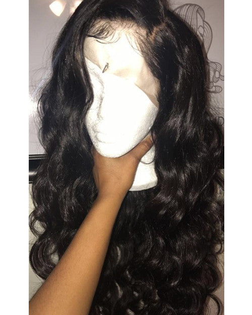 Wigsfox 24  Long Wavy Wigs For African American Women The Same As The Hairstyle In The Picture