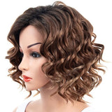 Partial Distribution Type Fluffy Big Wave Small Curl Wig/Free Shipping