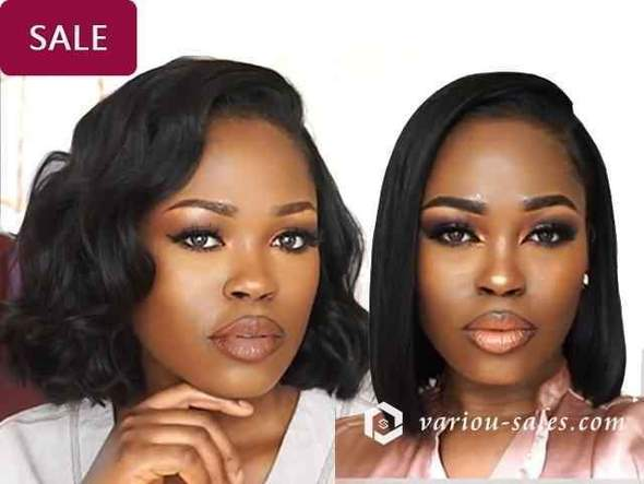 Blunt Bob Lace Front Wig