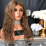 Dark Brown Synthetic Wigs for women Fashion Wig Lace Front Wig/Free Shipping