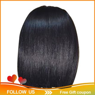 ☀Ready Stock☀Short Lace Front Human Hair Wigs Brazilian Remy Hair Bob Wig