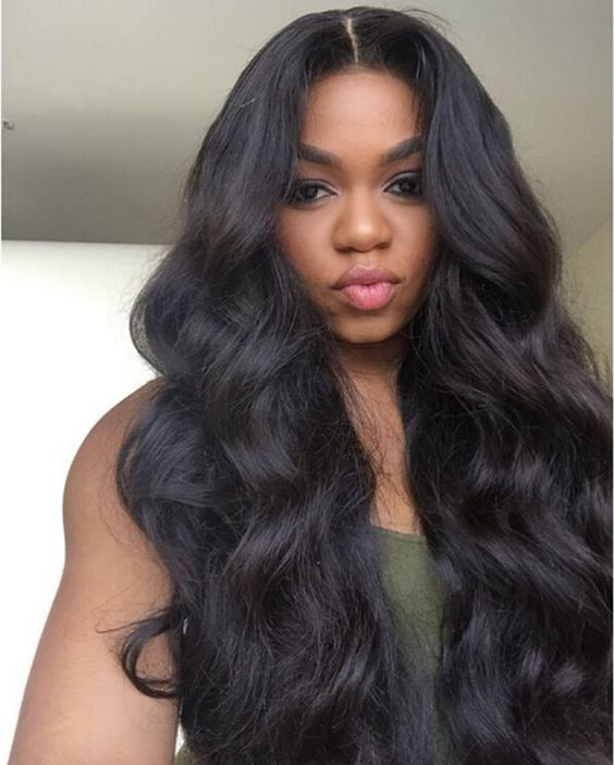 Wigsfox 14  Wavy Medium Wigs For African American Women The Same As The Hairstyle In The Picture