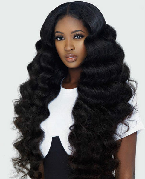Wigsfox 12  Wavy Wigs For African American Women The Same As The Hairstyle In The Picture