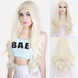 lace front lace gold natural wave ombre high temperature wire wig