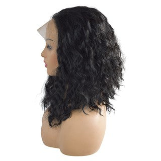 Curly Wig Glueless Lace Wigs Black Women Indian Remy Human Hair Lace Front/Free Shipping