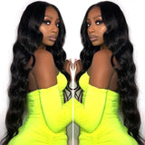 Brazilian Body Wave Wig Lace Front Human Hair Wigs 26 28 30 32 34 36 38 40   Wigs With Baby Hair African Hair Lace Frontal Wig