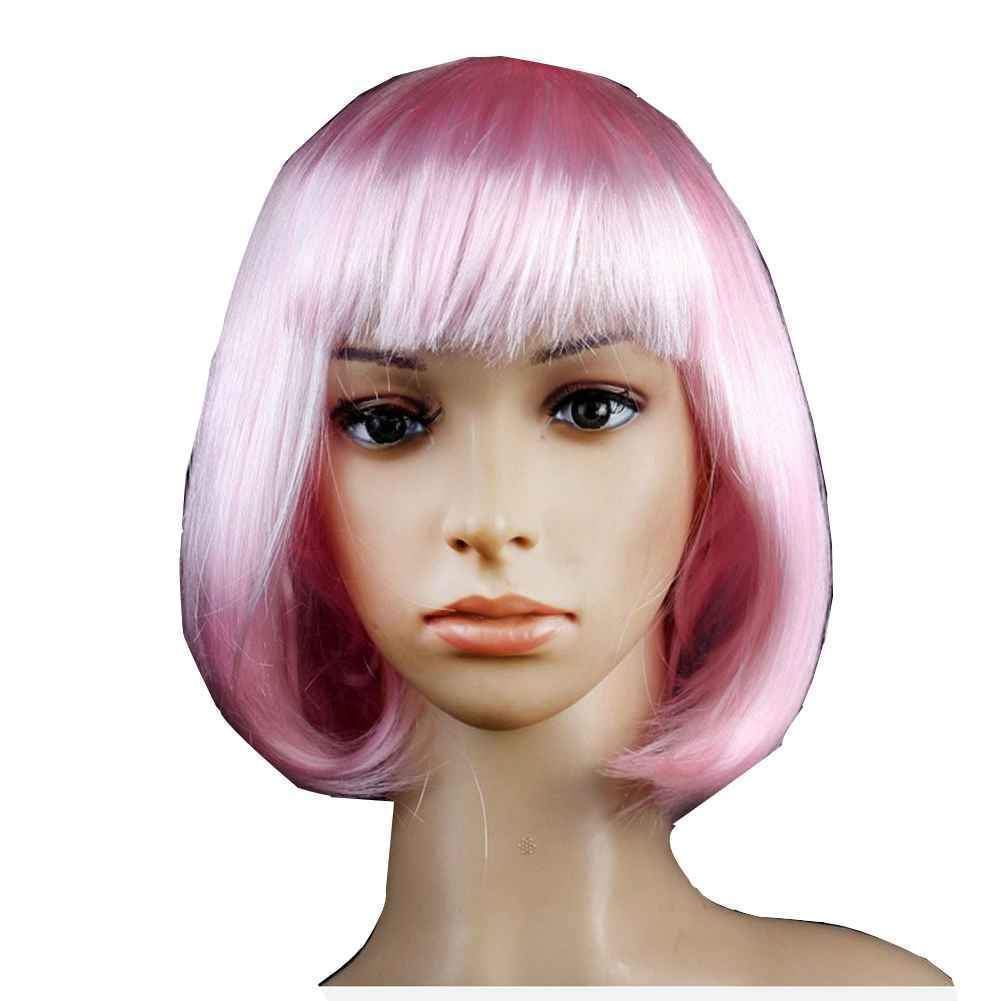 short bob wigs short hair wigs Cosplay Full Wig