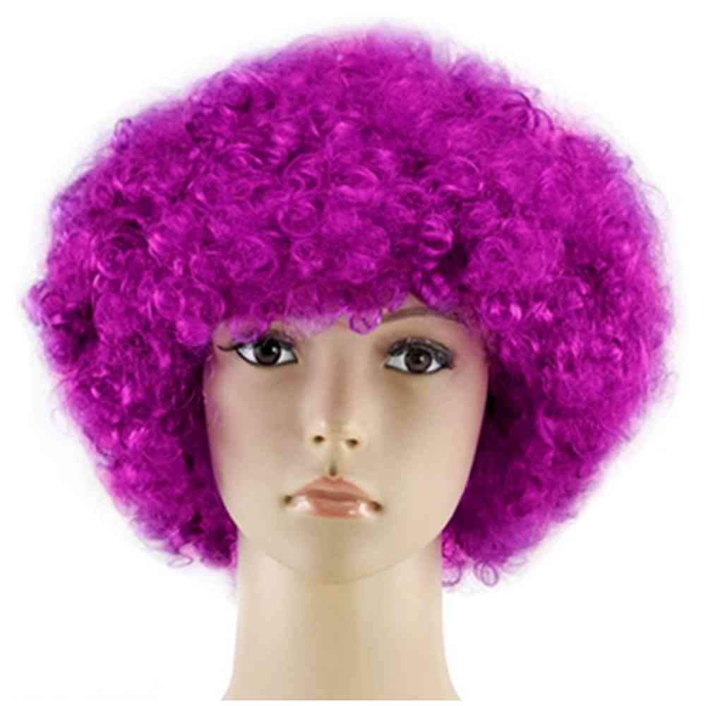 Unisex's Cute Cosplay Afro Wig for Halloween Ball Party Ball Rave Party Party Halloween Wig
